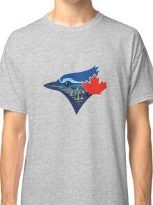 Toronto Blue Jays Skyline Logo Classic T-Shirt