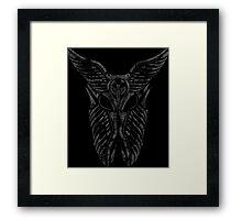 Shard Helm [ SILVER ] Framed Print