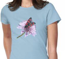 Six-spot Burnet Moth Womens Fitted T-Shirt