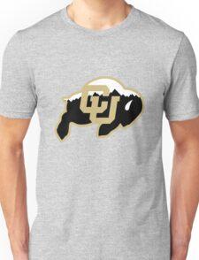 University of Colorado Boulder (mountains) Unisex T-Shirt