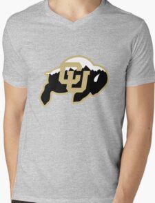 University of Colorado Boulder (mountains) Mens V-Neck T-Shirt