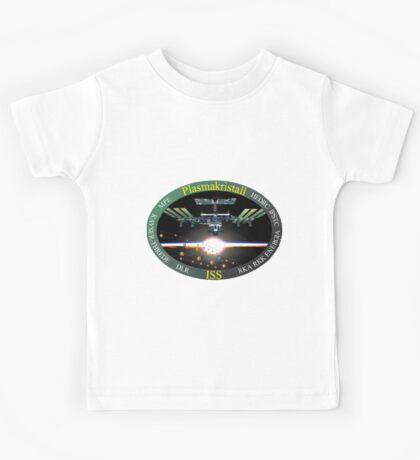 Plasma-Crystal-Experiment Program Logo Kids Tee