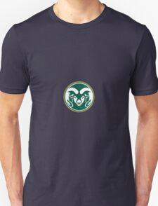 Colorado State University (felt) Unisex T-Shirt