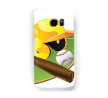 Yellow Baseball Samsung Galaxy Case/Skin