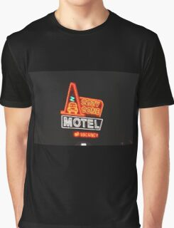 Cozy Cone Motel Graphic T-Shirt
