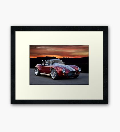 1966 Shelby Cobra 427 Replicar Framed Print