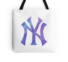 New York Yankees Watercolor Logo Tote Bag