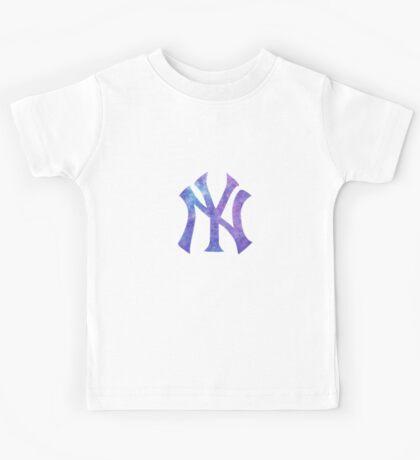 New York Yankees Watercolor Logo Kids Tee
