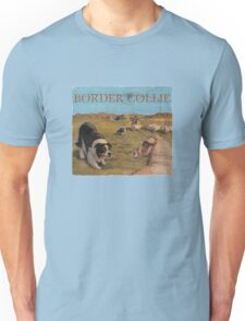 Dog Breed - the Border Collie Unisex T-Shirt