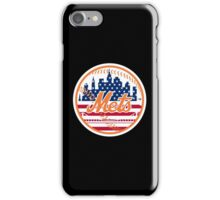 New York Mets Flag Logo iPhone Case/Skin