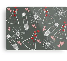 Chem love Metal Print
