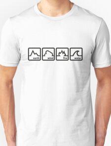 Earth Wind Fire Water Unisex T-Shirt