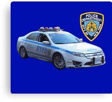NYPD 1 Canvas Print