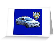 NYPD 1 Greeting Card