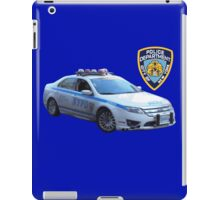 NYPD 1 iPad Case/Skin