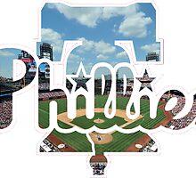 Philadelphia Phillies Stadium Logo by j423985