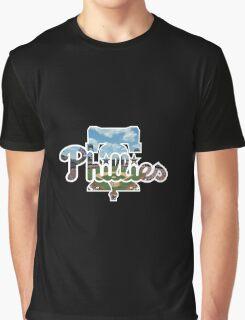 Philadelphia Phillies Stadium Logo Graphic T-Shirt