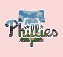 Philadelphia Phillies Stadium Logo One Piece - Long Sleeve