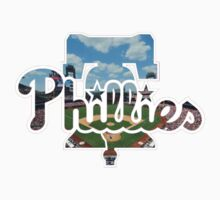 Philadelphia Phillies Stadium Logo One Piece - Long Sleeve