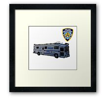 nypd 2 Framed Print