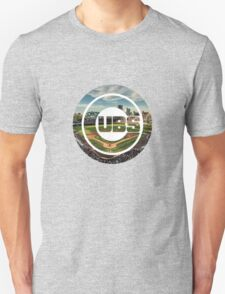 Chicago Cubs Stadium Logo Unisex T-Shirt
