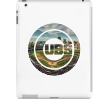 Chicago Cubs Stadium Logo iPad Case/Skin