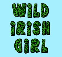 Wild Irish Girl with Animal Print Women's Relaxed Fit T-Shirt