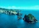 Cape Brett at the entrance to the Bay of Islands,  New Zealand....!   by Roy  Massicks