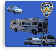 NYPD 3 Canvas Print