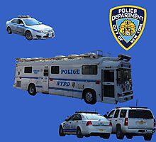 NYPD 3 Photographic Print