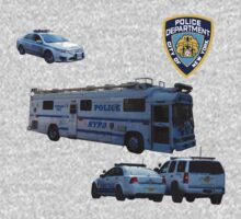 NYPD 3 Kids Tee