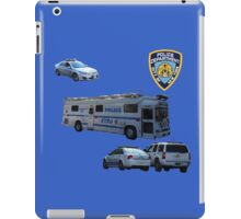 NYPD 3 iPad Case/Skin