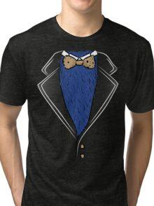 Cookie Formal tux shirt Tri-blend T-Shirt