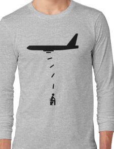 Toilet Bomber Long Sleeve T-Shirt
