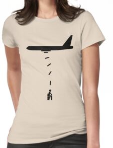 Toilet Bomber Womens Fitted T-Shirt