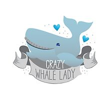 Crazy Whale Lady by jazzydevil