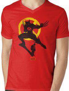 LOGAN THE BEAST Mens V-Neck T-Shirt