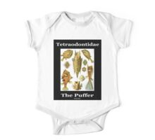 The Puffer Fish One Piece - Short Sleeve