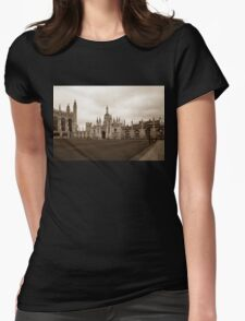 Cambridge, King's College 2 Womens Fitted T-Shirt