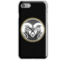Colorado State University (mountains) iPhone Case/Skin
