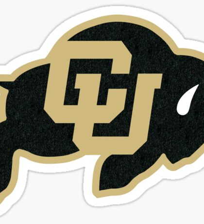 University of Colorado Boulder (felt) Sticker