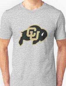 University of Colorado Boulder (felt) Unisex T-Shirt