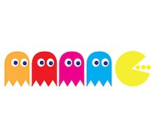 Pac Man Photographic Print
