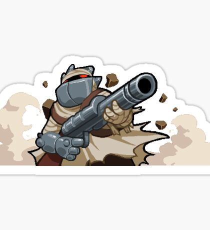 Nuclear Throne - Big Bandit Sticker