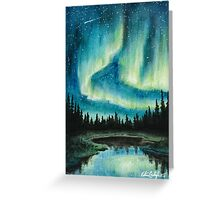 Skyscape - Northern Lights Greeting Card
