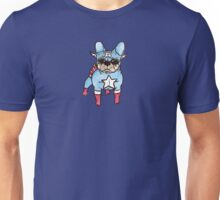Superhero x French Bulldog 5 of 10 series 1 Unisex T-Shirt