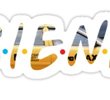 F.R.I.E.N.D.S - Taxi Sticker