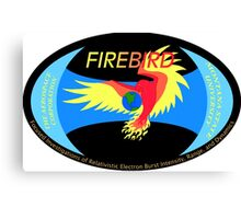 FIREBIRD-I Logo Canvas Print
