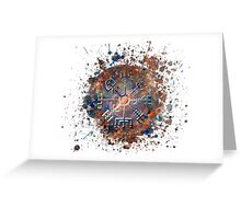 Runic Compass Greeting Card