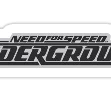 Need for Speed Underground Sticker